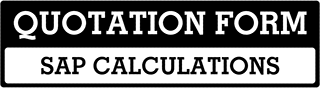 SAP Calculations Quote  For Allgreave